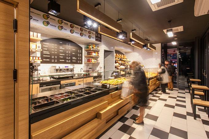 西点房店铺形象装修设计_重庆百瑞斯特咖啡西点学院
