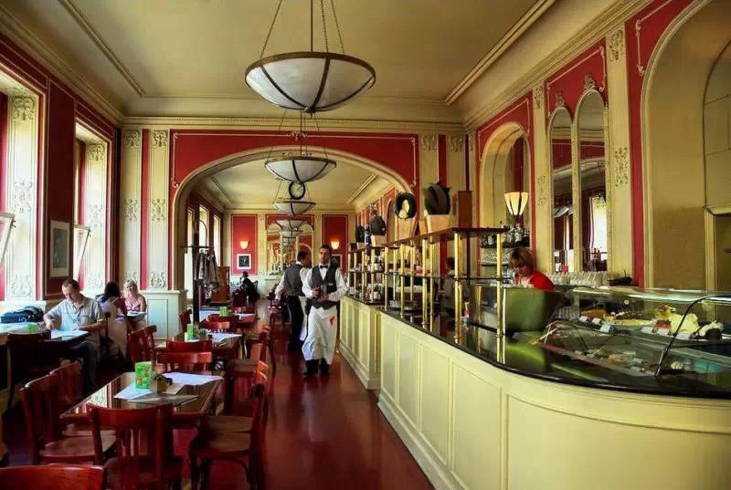 欧式咖啡馆招牌